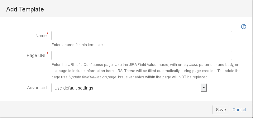 Create a Single Issue Template Directly from a Confluence Page ...
