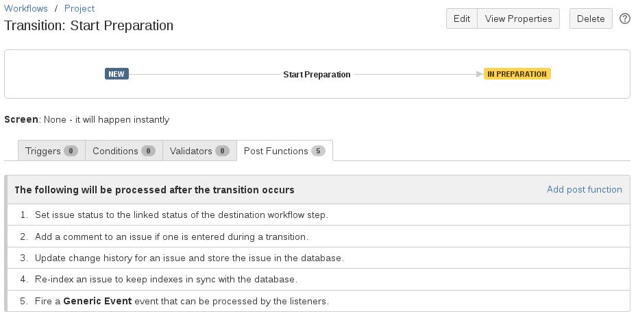 Enter Transition Options - v7 0 2 8 - Project Portfolio Management
